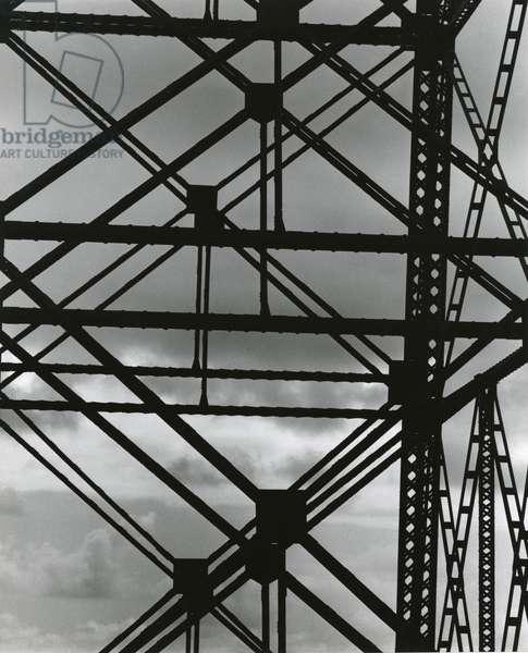 Electrical Tower, c.1970 (silver gelatin print)