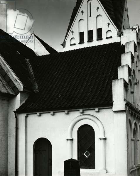 Church, Europe, 1968 (silver gelatin print)