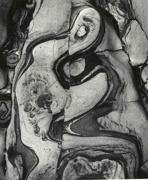 Rock Formation, 1971 (silver gelatin print)