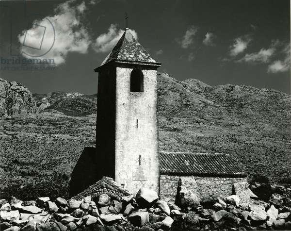 Stone Church, Yugoslavia, 1960 (silver gelatin print)