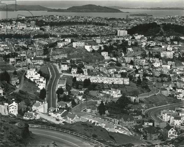 Skyline, San Francisco, 1938 (silver gelatin print)