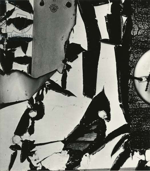 Cracked Paint, 1970 (silver gelatin print)