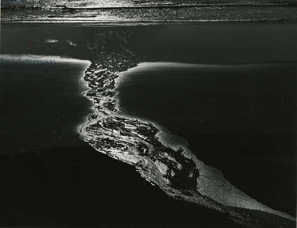 Oregon Coast, 1984 (silver gelatin print)