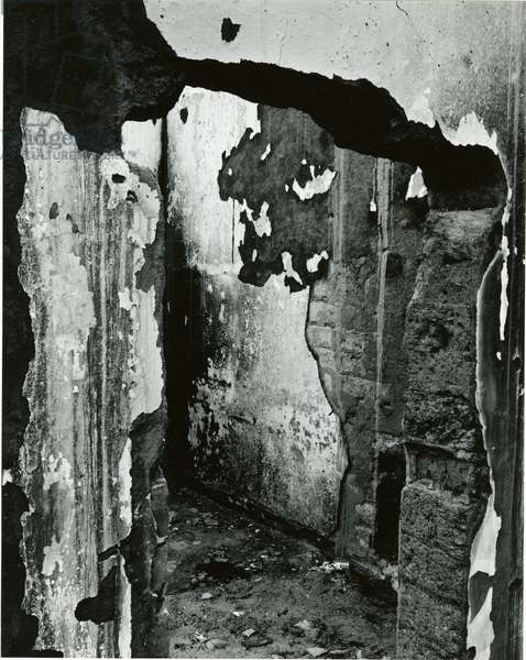 Cracked Paint, 1969 (silver gelatin print)