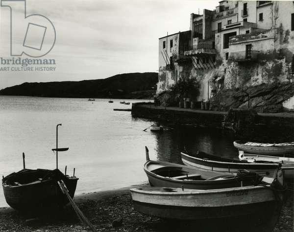 Harbour Scene, Spain, 1960 (silver gelatin print)