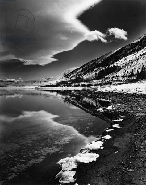 Mono Lake, c. 1955 (silver gelatin print)
