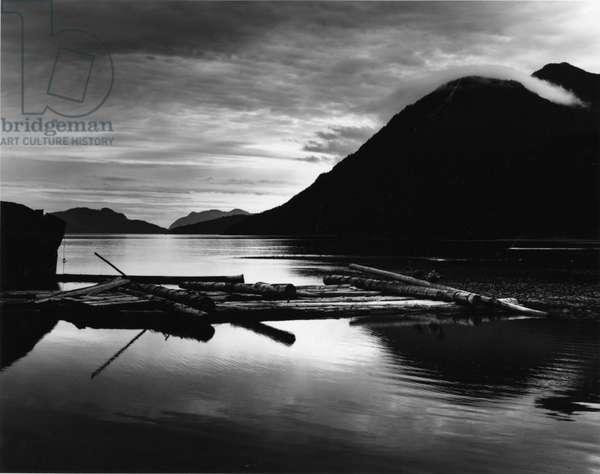 Landscape, British Columbia, 1978 (silver gelatin print)