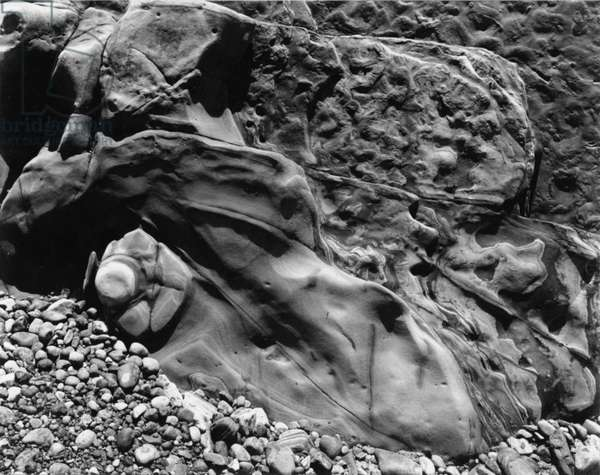 Rock and Pebbles, 1939 (silver gelatin print)