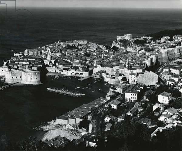 Harbor, Yugoslavia, 1960 (silver gelatin print)