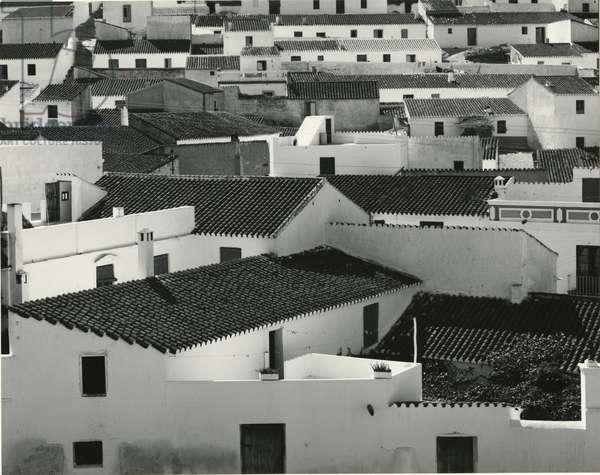 Spanish Village Rooftops, 1960 (silver gelatin print)