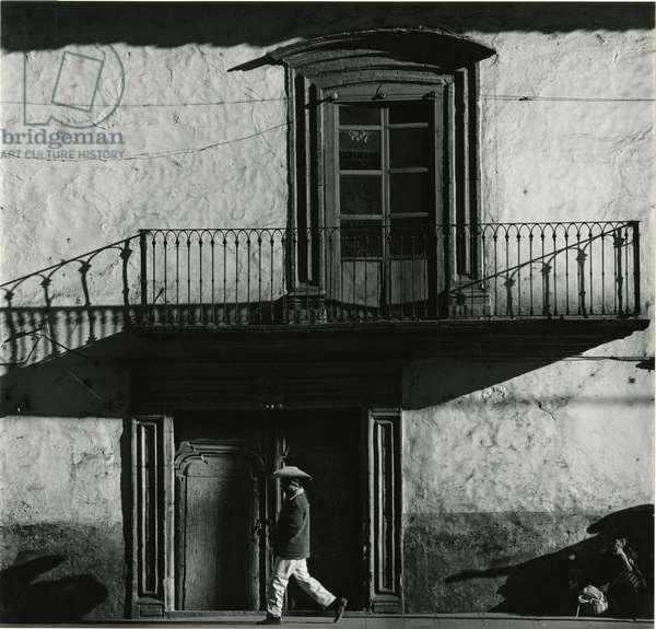 Balcony, Mexico, 1973 (silver gelatin print)