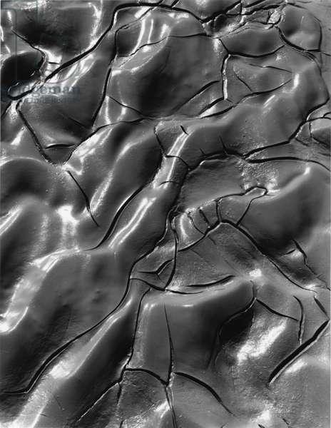 Mud Crack, c.1970 (silver gelatin print)