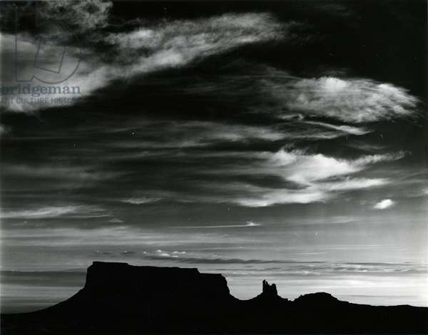 Monument Valley, c. 1970 (silver gelatin print)