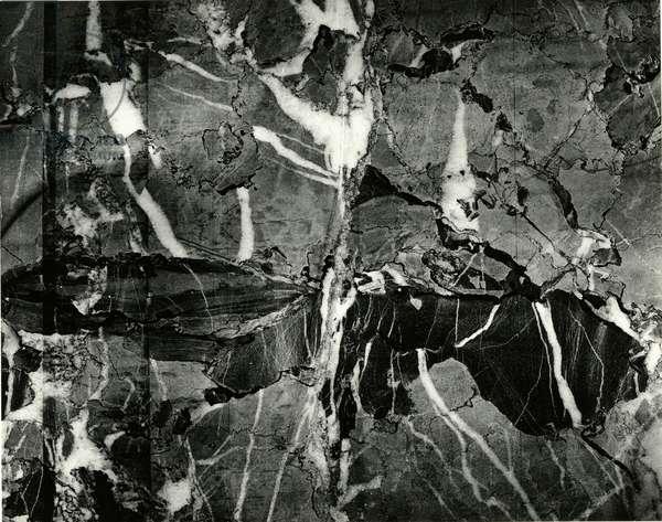 Rock Formation, Europe, c. 1970 (silver gelatin print)