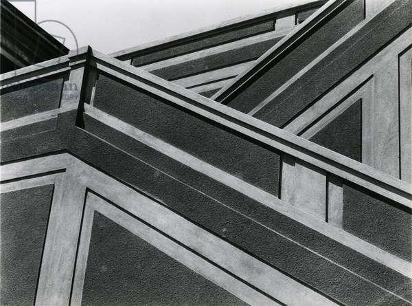Staircase, Grandview Park, San Francisco, 1928 (silver gelatin print)