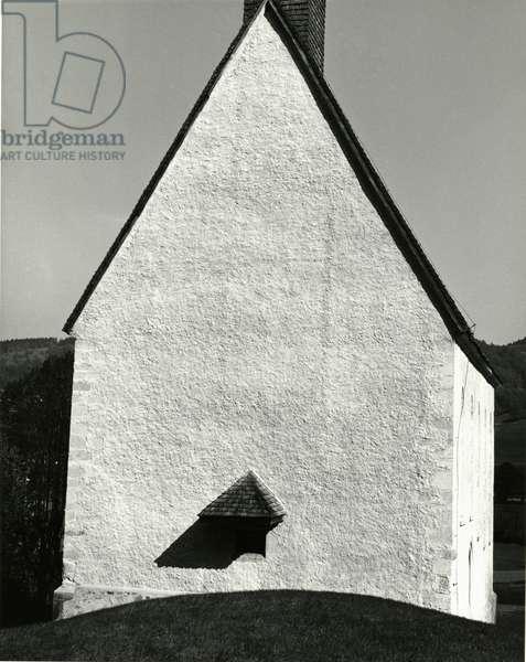 House, Europe, 1972 (silver gelatin print)