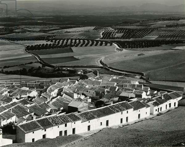 Village Scene, Spain, 1960 (silver gelatin print)
