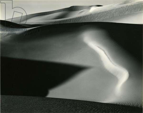 Dune, 1954 (silver gelatin print)