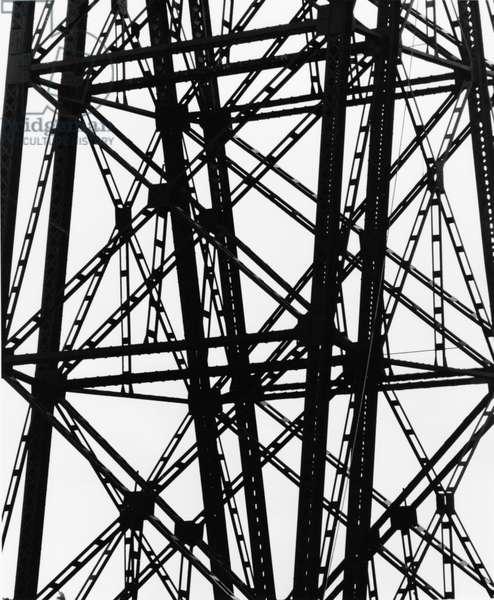 Electrical Tower, c. 1970 (silver gelatin print)