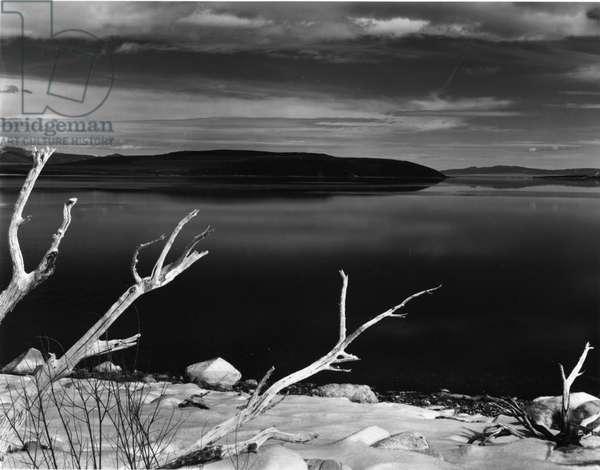Mono Lake, California, 1955 (silver gelatin print)