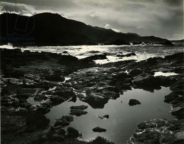 Storm Over Point Lobos, California, 1954 (silver gelatin print)