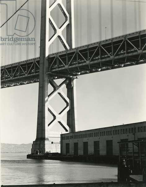 Bridge, San Francisco, 1937 (silver gelatin print)