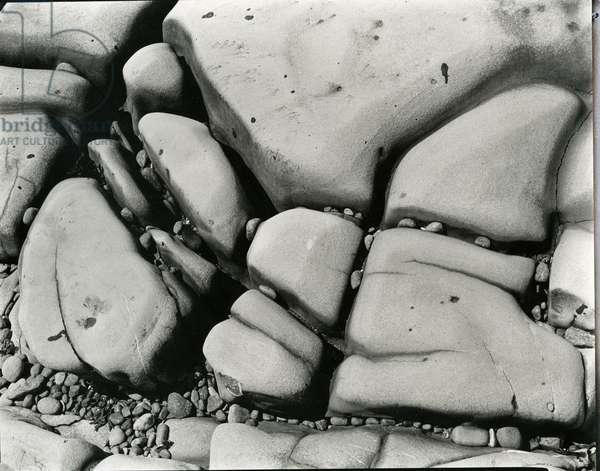 Rock and Pebbles, c.1955 (silver gelatin print)