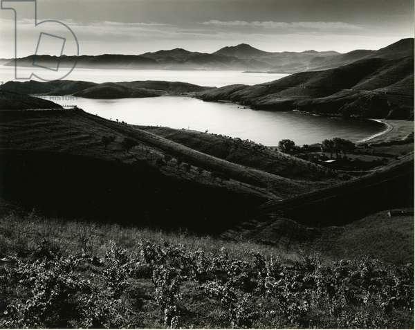 Coastal Scene, Spain, 1968 (silver gelatin print)