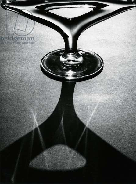 Hood Ornament, 1977 (silver gelatin print)