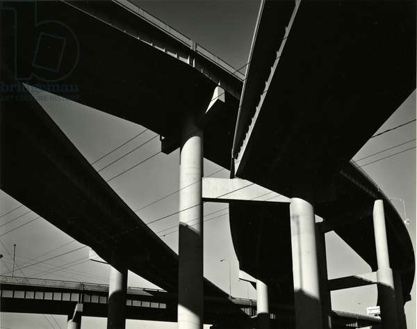 Overpass, Oregon, 1971 (silver gelatin print)