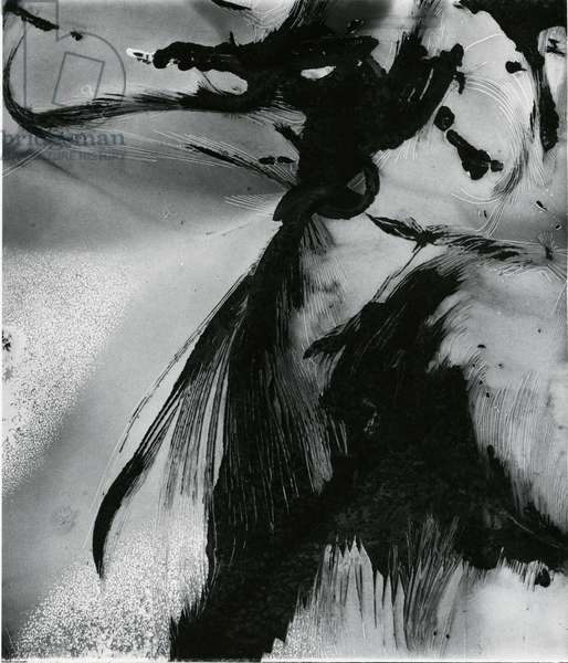 Metal and Paint, 1976 (silver gelatin print)