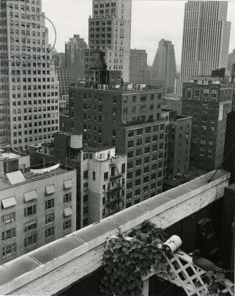 Cityscape, New York, c. 1944 (silver gelatin print)