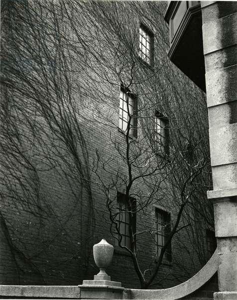 Sutton Place, New York, 1943 (silver gelatin print)