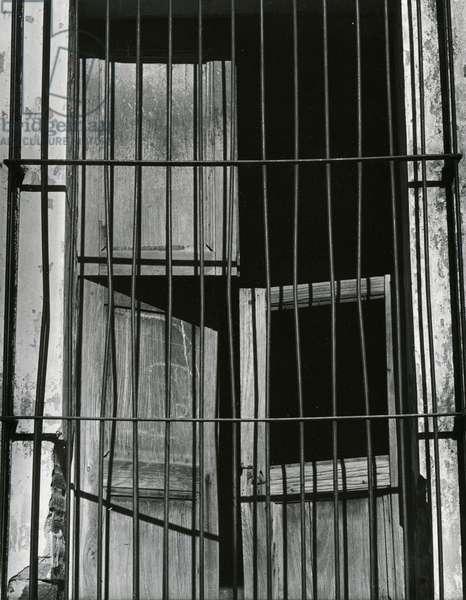 Window, Bars, Mexico, c. 1965 (silver gelatin print)