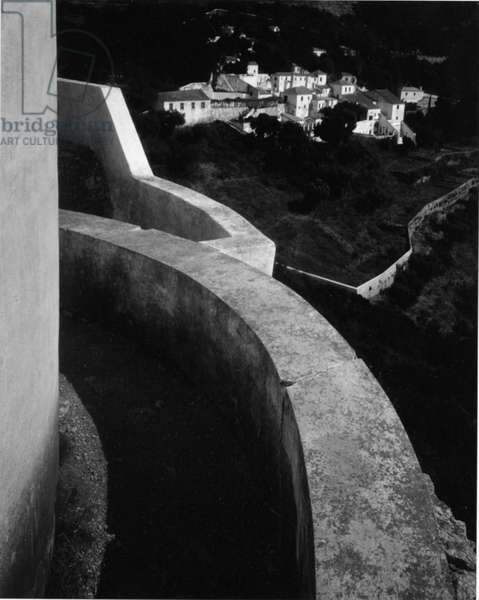 Monastery, Portugal, 1960 (silver gelatin print)