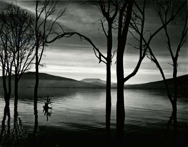 Lake Patzcuaro, Mexico, 1976 (silver gelatin print)