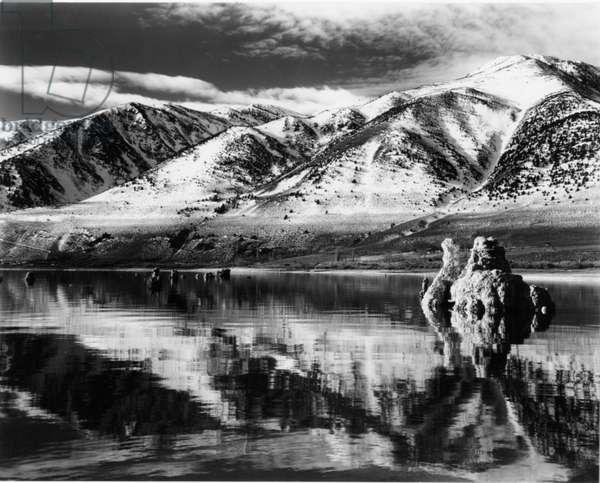 Mono Lake, California, 1956 (silver gelatin print)