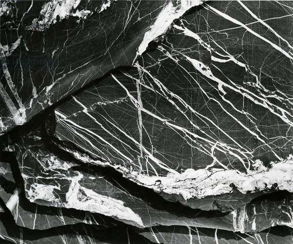 Rock Formation, c.1970 (silver gelatin print)