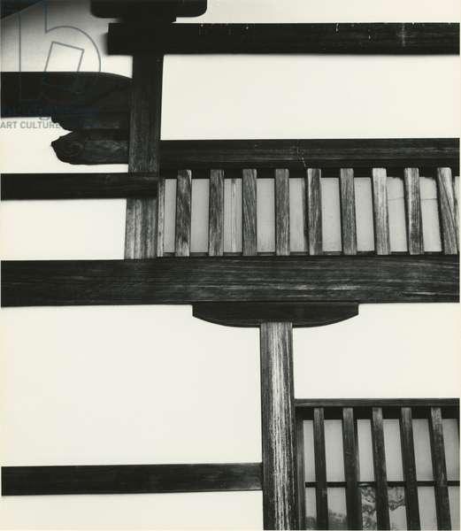 Building, Japan, 1970 (silver gelatin print)