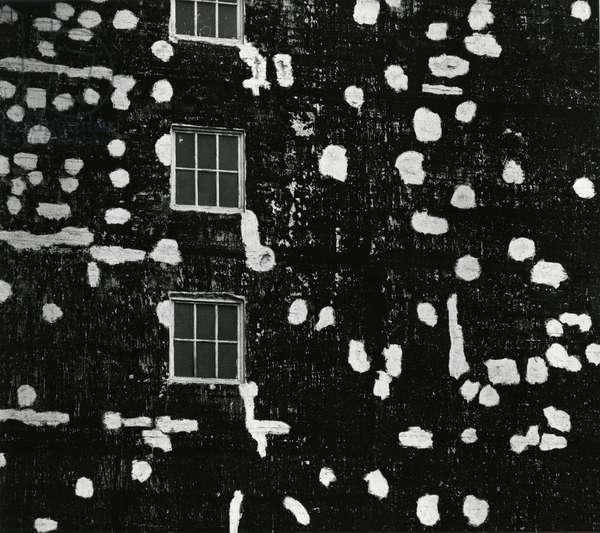 Building, 1971 (silver gelatin print)