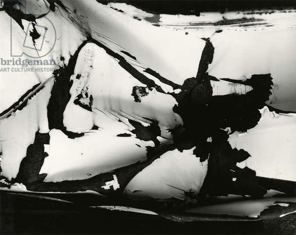 Junked Car, 1977 (silver gelatin print)
