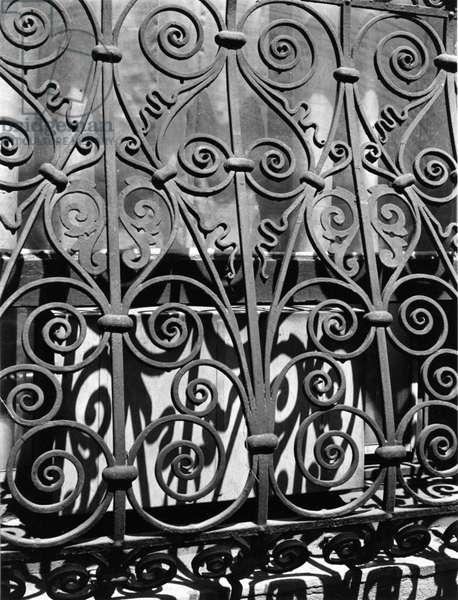 Wrought Iron, New York, 1943 (silver gelatin print)