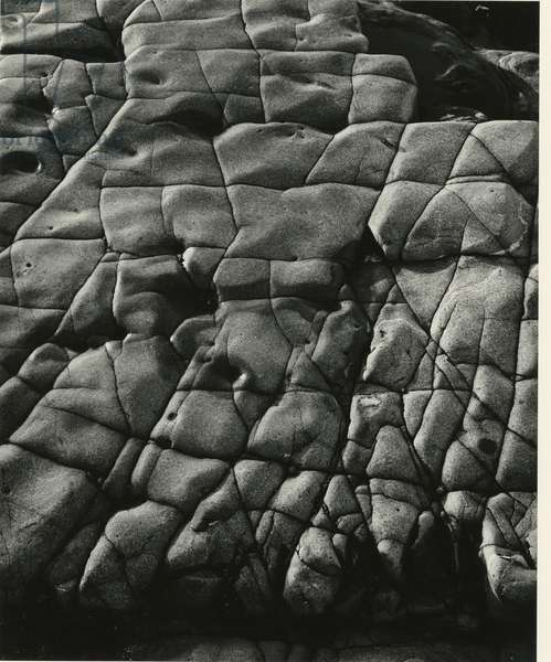 Rock Formation, 1974 (silver gelatin print)