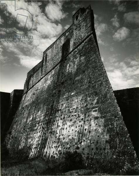 Spanish Castillo, Portugal, 1960 (silver gelatin print)