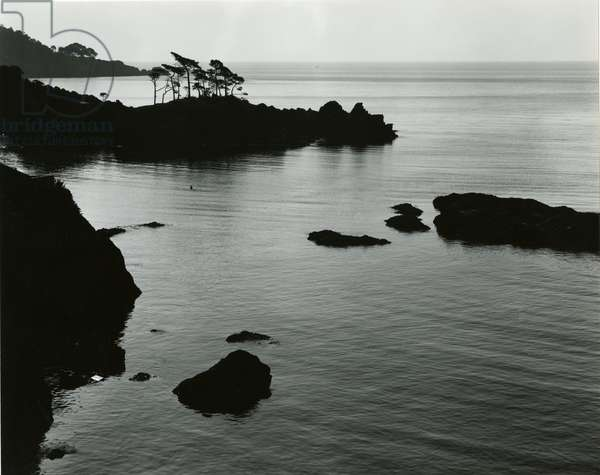 Coastal Scene, France, 1960 (silver gelatin print)