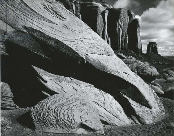 Desert Landscape, Monument Valley, 1970 (silver gelatin print)