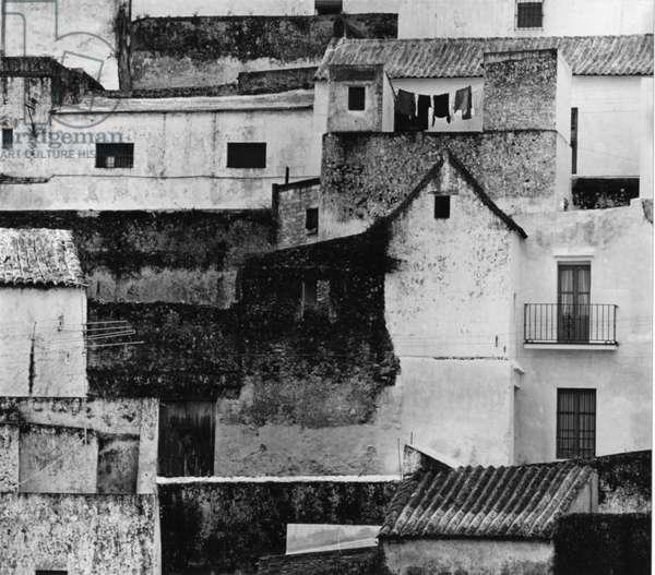 Village, Spain, 1973 (silver gelatin print)