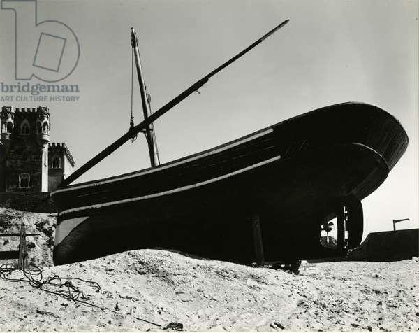 Boat, Costa Del Sol, Spain, 1960 (silver gelatin print)