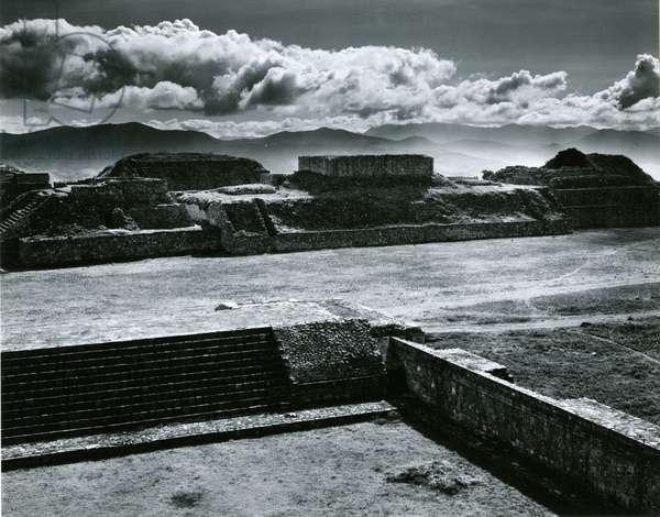 Monte Alban, Mexico, 1964 (silver gelatin print)