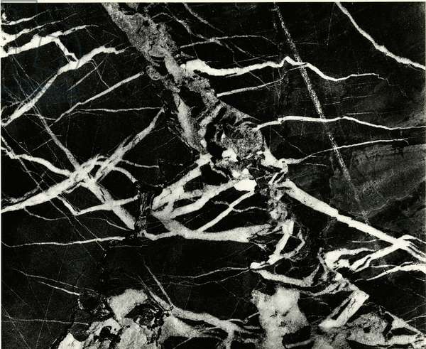 Marble Abstraction, Europe, 1971 (silver gelatin print)
